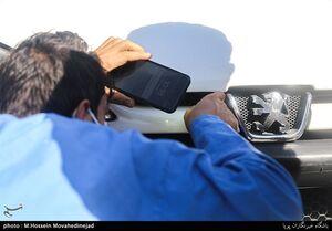 عکس/ دستگیری سارق فراری در تهران