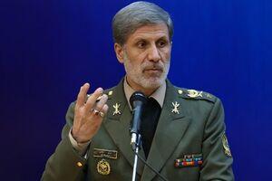 وزیر دفاع: نیروهای مسلح عنصر اصلی پیشرفت کشور هستند