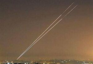 فیلم/ حمله راکتی به سفارت آمریکا در بغداد
