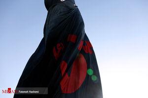 عکس/ تعویض مرتفعترین پرچم کشور به مناسبت محرم