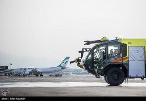 تکذیب انفجار و آتش سوزی در فرودگاه مهرآباد
