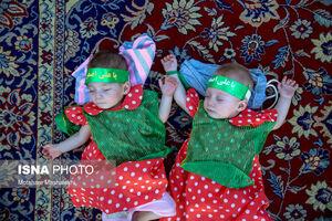 عکس/ همایش شیرخوارگان حسینی در اراک