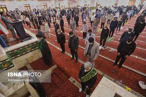 عکس/ اقامه نماز جمعه بندرعباس پس از شش ماه