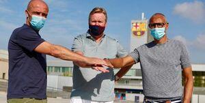 دستیاران کومان در بارسلونا مشخص شدند