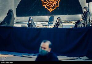 مراسم عزاداری اولین روز ماه محرم در ارگ تبریز