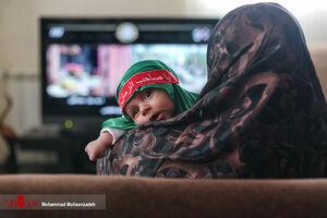 عکس/ همایش شیرخوارگان حسینی در خانه