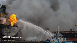 آتش سوزی کشتی