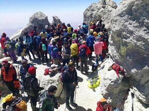 کوهنوردها کرونا نمیگیرند! +عکس