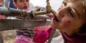 ترکیه مانع دسترسی وصل آب شرب مردم الحسکه
