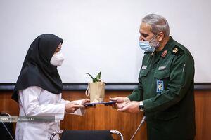 عکس/ بازدید سردار یزدی از بیمارستان سینا