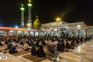 عکس/ عزاداری شب سوم محرم در حرم حضرت عبدالعظیم(ع)