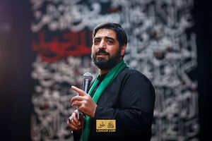 صوت/ عزاداری شب سوم محرم با نوای سیدمجید بنیفاطمه