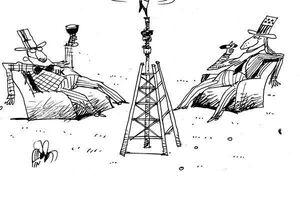 کاریکاتور/ خوش رقصی شورای همکاری خلیج فارس برای اربابها!