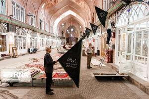 عکس/ سیاهپوش شدن بزرگترین بازار مسقف جهان