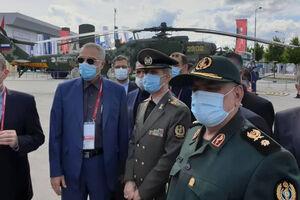 فیلم/ بازدید وزیر دفاع از اس ۴۰۰ در روسیه