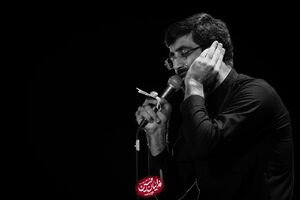 صوت/ عزاداری شب نهم محرم با نوای سید رضا نریمانی