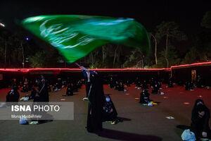 عکس/ آیین عزاداری حسینی در سفارت سابق آمریکا