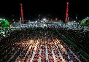 عکس/ شکوه عزاداری حسینی در مسجد مقدس جمکران