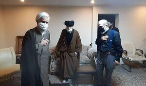 عکس/ عیادت نماینده رهبرانقلاب از حجت الاسلام فاطمی نیا