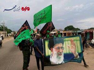 شیعیان عزادار در نیجریه