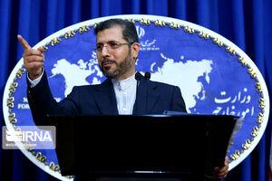 عکس/ اولین نشست خبری سخنگوی جدید وزارت امور خارجه