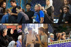 پیگیری مراسمهای محرم توسط گردشگران خارجی +عکس