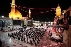 شبهای حسینی در سامرا +عکس