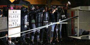 اعتراضات پورتلند باز هم به خشونت کشیده شد