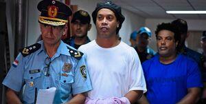 پایان ۵ ماه حبس رونالدینیو