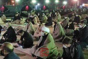 فیلم/ حجت الاسلام قمی دیشب هیئت به کجا رفت