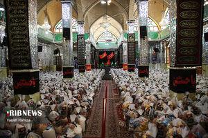 عکس/ اقدام زیبای هیئتیها در امامزاده حسن(ع)
