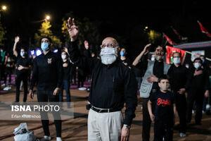 آیین عزاداری حسینی در میدان فلسطین