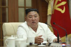 وعده توسعه روابط بین دو کره توسط کیم جونگ اون