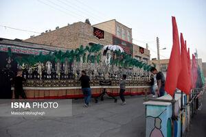 عکس/ شور حسینی در محلههای سمنان