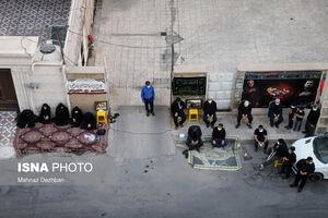 خیابانهای اهواز حسینیه شد