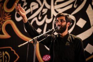صوت/ عزاداری شب هفتم محرم با نوای سید رضا نریمانی