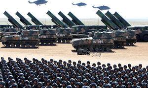 شلیک موشک ارتش چین برای هشدار به آمریکا