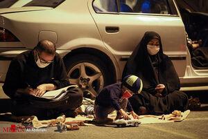 مراسم عزاداری محرم در بازار خودرو مشهد