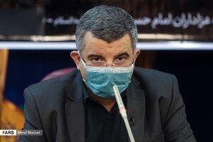 بازدید حریرچی از بیمارستان بقیه الله (عج)