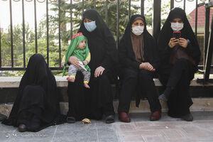 عکس/ روضه خوانی در منزل شهید مدافع حرم رسول خلیلی