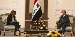 برهم صالح: ترکیه حملات خود به خاک عراق را متوقف کند