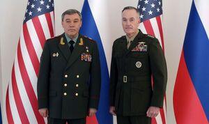 گفتوگوی تلفنی رؤسای ارتش آمریکا و روسیه درباره سوریه