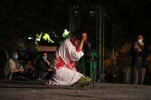 تعزیه حضرت علی اکبر(ع) در پهنه رودکی +عکس