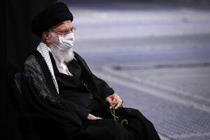 عکس/ دومین شب مراسم عزاداری حضرت اباعبدالله (ع) با حضور رهبر انقلاب