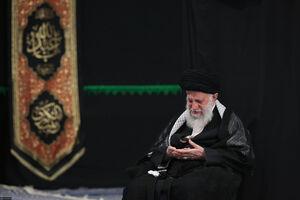 عزاداری امام حسین باحضور رهبر انقلاب اسلامی
