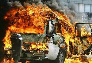 آتش سوزی پراید یک کشته بر جا گذاشت