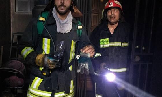 آتش سوزی در بازار تهران مهار شد