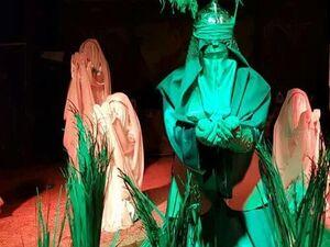 نمایش فرشتگان کربلا روایتی از غریبی امامحسین(ع) +عکس