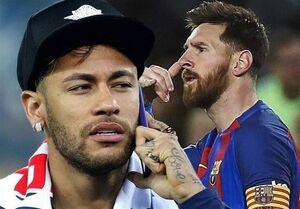 تماس نیمار با مسی برای پیوستن او به PSG