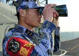 چین یک ناو آمریکایی متجاوز را از آب هایش بیرون کرد